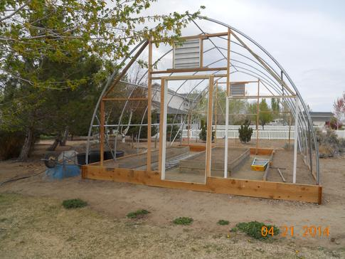 Secrets Building Low And High Tunnel Hoop Houses